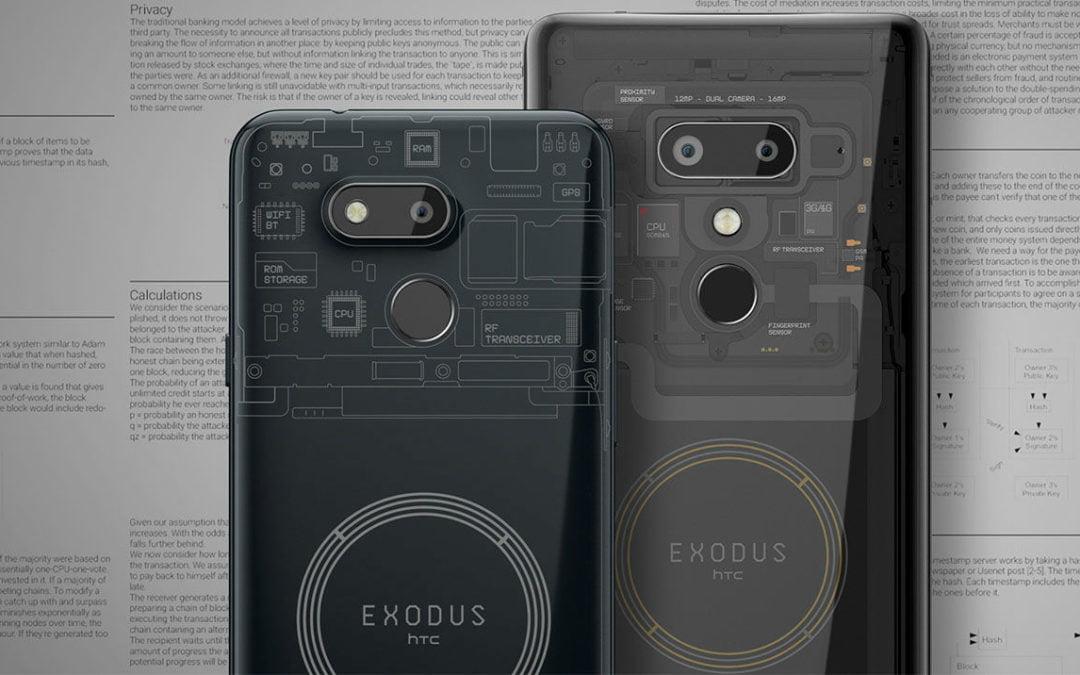 HTC lance le smartphone Exodus 1s avec node Bitcoin intégré en Europe