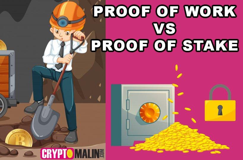Preuve de travail (PoW) vs Preuve d'enjeu (PoS)