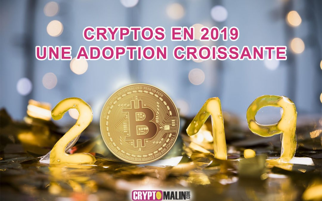 Les cryptos en 2019 une adoption croissante