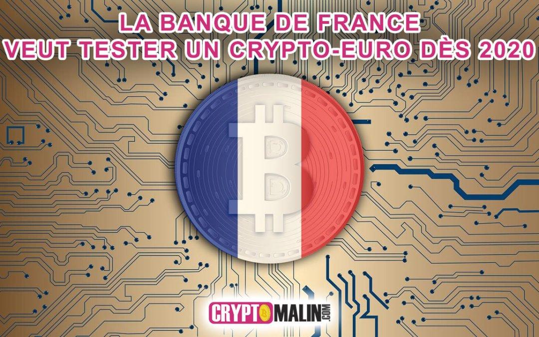 La Banque de France accélère l'adoption de la monnaie numérique