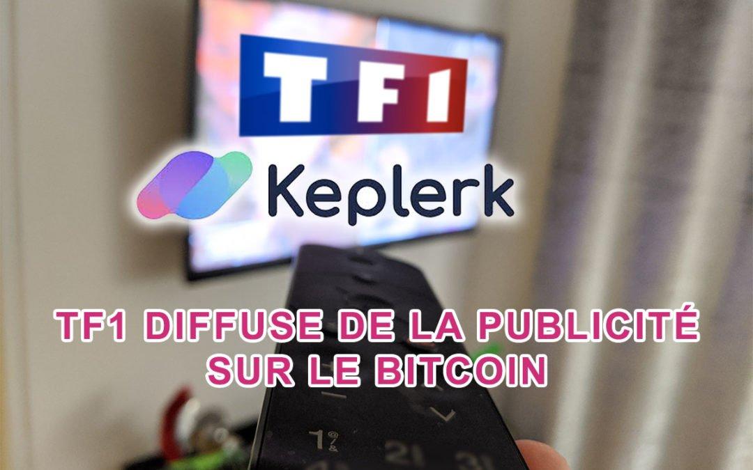 TF1 diffuse de la publicité pour le bitcoin