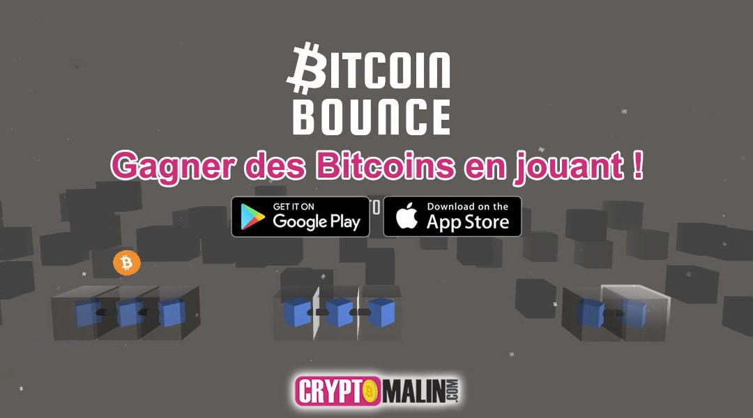 """Gagner des Bitcoins en jouant """"Bitcoin Bounce"""" sur Mobile"""