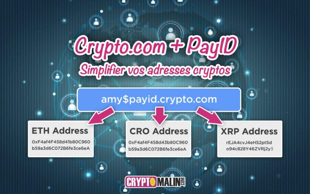 PayString + Crypto.com : Simplifier vos adresses cryptos