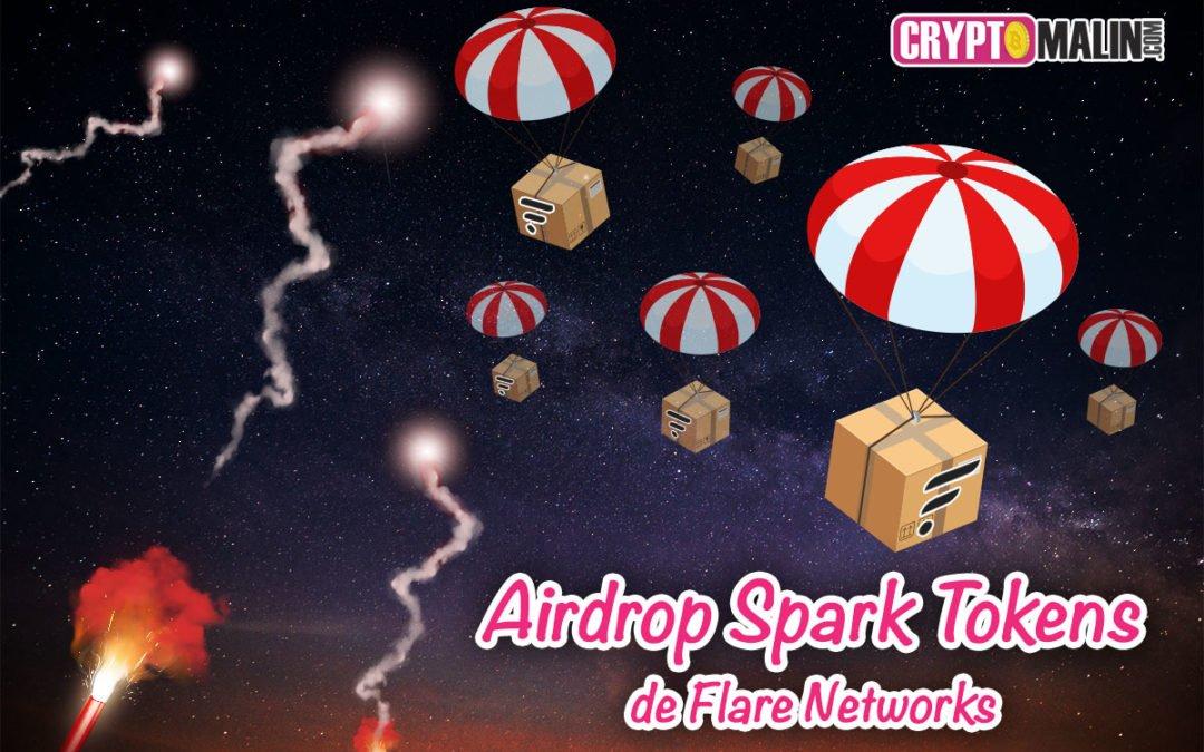 Airdrop : Recevez des Spark Tokens de Flare Networks avec Crypto.com si vous possédez des XRP