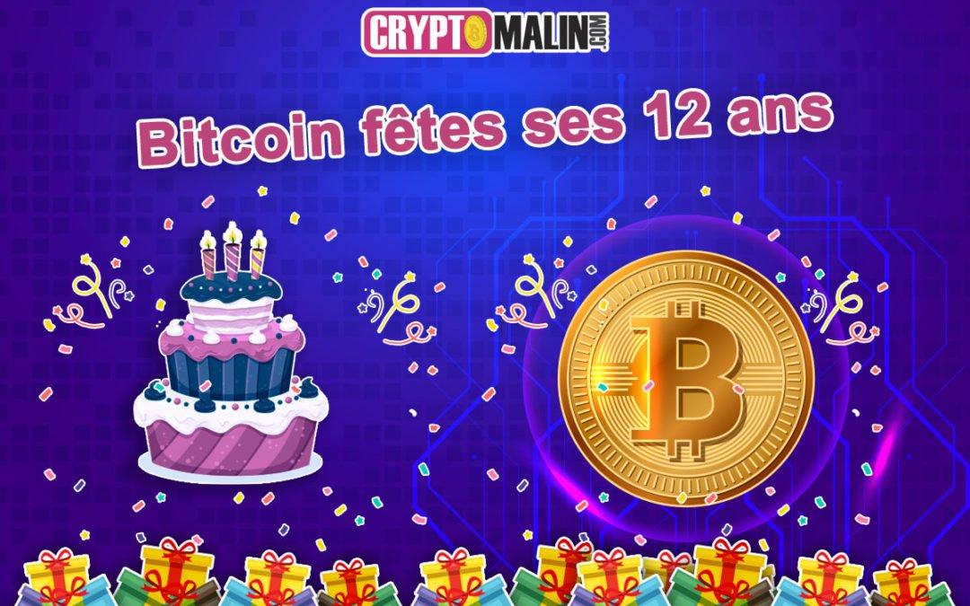 """Bitcoin fêtes ses 12 ans avec la naissance du """"Bloc Genesis"""""""
