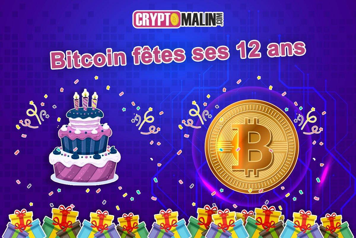 Bitcoin bloc genesis anniversaire