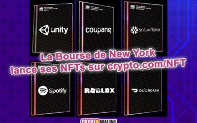 La Bourse de New York lance ses premiers NFT