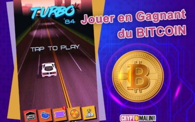 """Gagner des Bitcoins en jouant """"Turbo 84"""""""